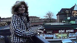 Mallcuties - amateur czech girls fucking on street