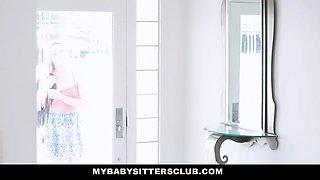 MyBabySittersClub - Caught the Babysitter Touching My Cock