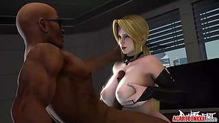 Big boobs 3D heroes drilled in the pussy compilation
