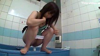 Fabulous Japanese whore in Crazy Pissing JAV clip