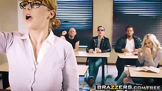 brazzers - big tits at school -  the substitute slut scene s