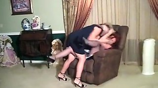 Classic Catfights in skirts and dresses