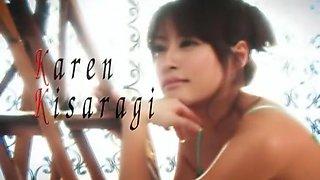 Exotic Japanese model Karen Kisaragi in Best Blowjob/Fera, Secretary JAV movie