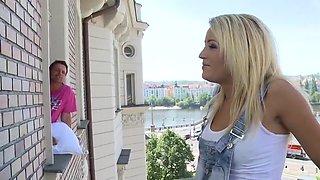 Exotic pornstar Adele Sunshine in hottest dp, blonde xxx video