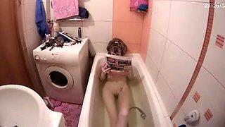 Amateur takes a bath