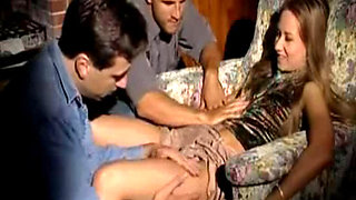 maxcuckold.com Cuckold Gangbang While Husband Sleep