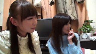Drunk japanese 4some
