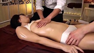 Asian japanese amateur handles anal toy