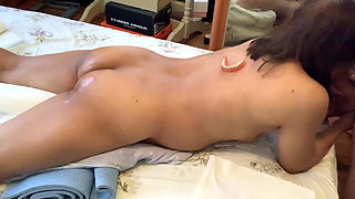 prone bone and doggy anal for my Filipina