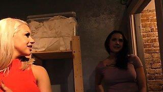 Brooklyn Chase and Chanel Preston Tries Anal - Gloryhole