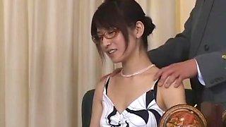 Hottest Japanese girl Manami Suzuki, Hikari Kisugi, Aya Shiraishi in Best Cougar JAV scene