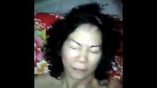 The old woman oral sex bukkake