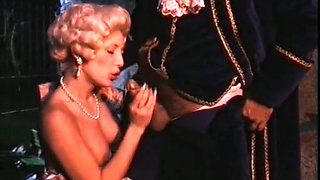 Amazing retro scene with a medieval duchess blowing and getting fucked