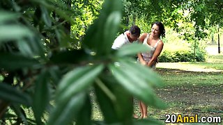 babe gets asshole rammed anal film 1