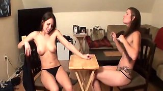 Strip arm wrestling