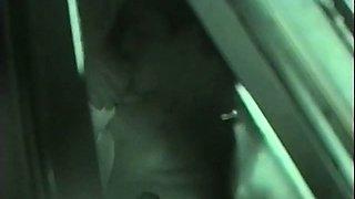 Horny Couples Sex Inside Of Dark Car