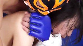 Mixed Wrestling Nozomi Hazuki defeated