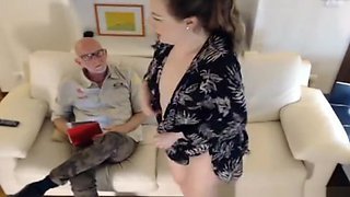 Curvy Redhead Fingering Her Clit On Webcam