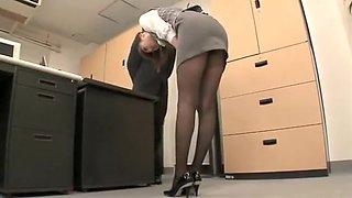 Incredible homemade Upskirts, Secretary porn scene