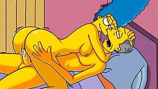Marge Simpson hentai MILF