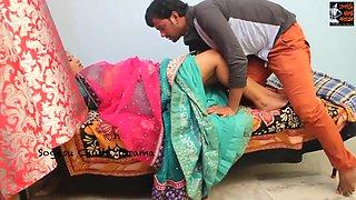 Indian housewife enjoys