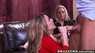 Brazzers - Real Wife Stories - Baby Cum On Me scene starring