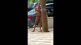 Candid Beach Teen bikini
