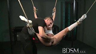 Beauty Slave Girl And Mistress Dominates
