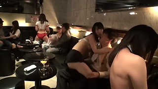 Great Japanese girl in Amazing Party JAV video show