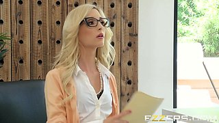 Nicolette Shea And Piper Perri In Showing Her Whos Boss