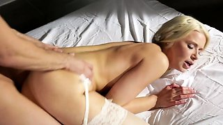 Bride Having a Passionate Fuck With the Groom