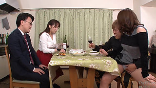 Horny Asian couples swapping