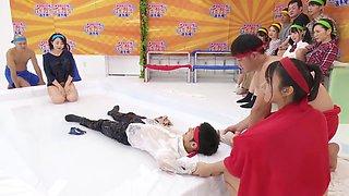 Japanese Family Wrestling Challenge Pt. 3