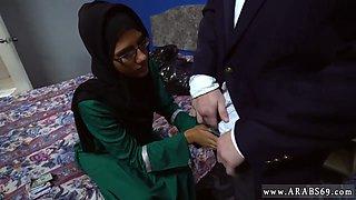 footjob first time Desperate Arab Woman Fucks For Money