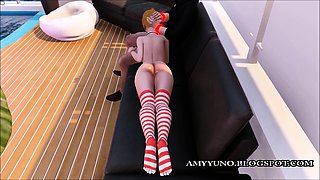 Young Cute Petite 3D Virtual Teen With Small Tits!