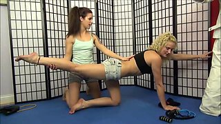 Brooke wedgie JC gym