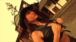 ghost riders - oiled lesbian Cowgirl music video