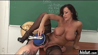 lisa ann is one hot teacher