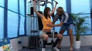 Seduced by the gym teacher