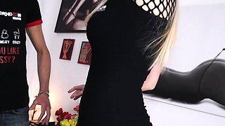 CastingAllaItaliana - Italian blonde eats cum during hot sex