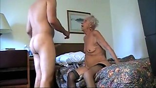 Fabulous Homemade clip with Grannies, Young/Old scenes