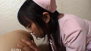 Hottest Japanese girl An Yuzuki in Incredible Threesomes, Rimming JAV movie