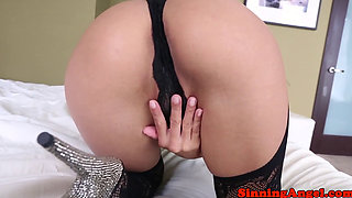 Clitpierced asian deepthroats after pounding