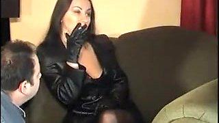 Exotic amateur Femdom, Smoking adult scene