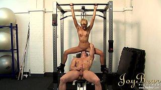 Clarke Kent & Crystal Crown in In the gym - JoyBear
