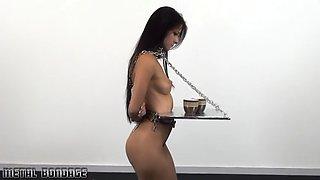 Lisbian mistres training bondage slave