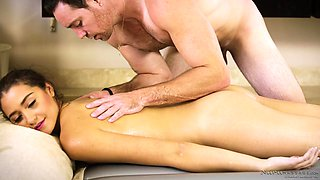 avi is getting a nuru massage