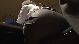 Fabulous Japanese chick Honami Takasaka in Incredible Creampie/Nakadashi, BDSM JAV clip