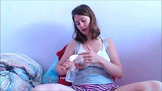 Breast milk pumping. HOTKATI1