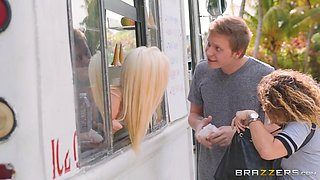 Jade Amber & Michael Vegas in Jade Screams for Ice Cream - Brazzers